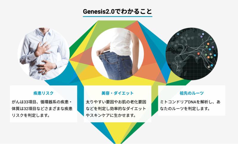 Genesis2.0の説明図